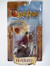 Harry Potter SEEKER HARRY Quidditch Playing Nimbus 2000 ACTION FIGURE Mint