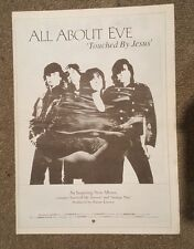 All about eve  1991  press advert Full page 30 x 42 cm mini poster