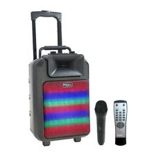 Ibiza Sound Power8 LED MKII Portable Sound System with LED Lights
