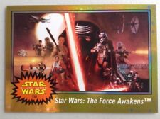 Star Wars Journey To The Force Awakens GOLD FOIL #110 Poster Card - 39/50 RARE!!