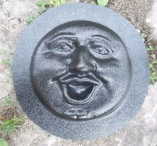 """Smile face plastic mold cement plaster concrete mould  5"""" x 1/3"""""""