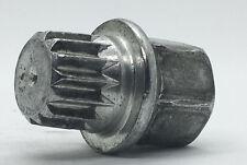 VW Volkswagen Audi Wheel Lock Key 14 Pointed Spline Style ABC 3 OEM Used