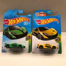 Hot Wheels Lot 2X McLaren P1 HW Exotics 4/10 / McLaren P1 HW Exotics 1/10 CL21