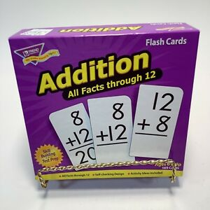 Flash Cards Addition: All Facts through 12 - 169 Cards Factory Box Teach