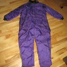 Vintage Oshkosh Osh Kosh B'gosh Sportswear Purple Snowsuit Adult XL Long Vikings