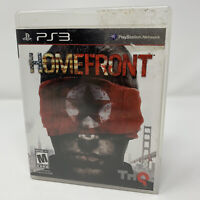 Homefront Sony PlayStation 3 PS3 Game Complete With Manual Tested