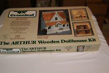Unused Vintage Greenleaf The ARTHUR Wooden Dollhouse Kit / Victorian Cottage