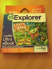 *BNIB* LEAPFROG LEAPPAD Explorer Ultra ebook Learn To Read Fairy Tales 4-6 Years
