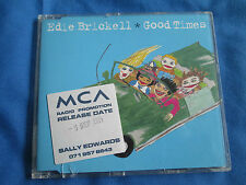 Edie Brickell Good Times 3 Track Promo UK CD promo release date sticker