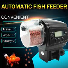 Aquarium Tank Automatic Fish Food Feeder Feeding Auto Dispenser Timer Digital