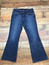 "Women's VICTORIA'S SECRET LONDON JEAN Bootcut Jeans Size 8 Distressed 29""Inseam"