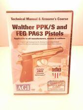 Walther Ppk Ppk/S Gunsmithing Armorer Dvd Agi Video Gunsmith Technical