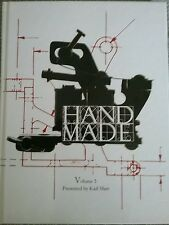 Handmade tattoo machine book volume 3 Karl Marc and sign my one of the builders
