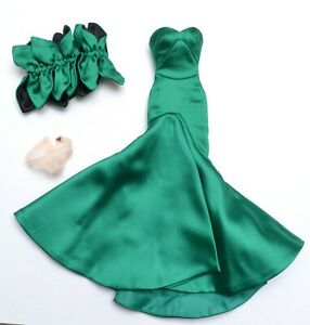 """DIVINE EVENING Victoire Roux 12"""" OUTFIT Integrity also fits Silkstone Barbie"""