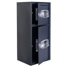 Steel Safe Box Digital Electronic Keypad Lock Security Home Office Hotel Gun New