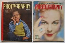 July 1952 & March 1953 Photography Magazines - Vivian Cherry violence child play