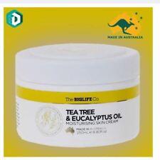 DUNSPEN  The Big Life Co Tea Tree & Eucalyptus Oil Moisturising Skin Cream - 250