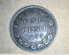 1895  Canada, One Cent,  High Grade Bronze   (Can-92)