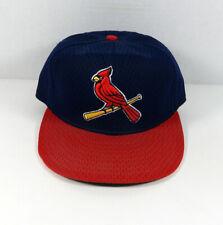 Vintage St. Louis Cardinals Replica Navy Red Hat New Era 7 1/8