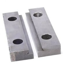 """Kurt II PT800 / PTH800 pair of Jaws (Jaw Plate D80-7) 8"""" For Clamping Vise"""