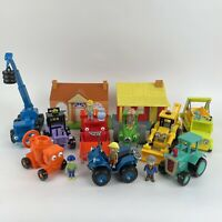 Bob The Builder Toys Trucks Construction Machines & Figures Playset Bundle VGC