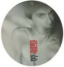 "Iggy Pop, Livin sur le bord de la nuit, photo Disque 12"" Ltd Edition"