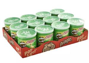 Pringles Pop & Go Travel Box  12 x 40g Sour Cream & Onion Flavour