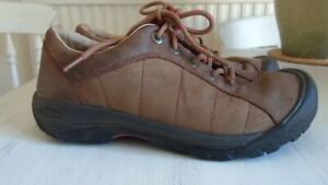 KEEN SHOES BOOTS BROWN LEATHER UK 7.5