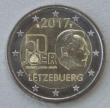 2 Euro Luxemburg 2017 50 Jahre Freiwilligenarmee / Wehrdienst unz.