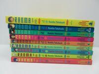 Ranma 1/2 by Rumiko Takahashi Graphic Novel Volumes 2 3 4 5 6 7 8 9 10