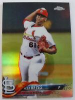 2018 Topps Chrome #5 Alex Reyes St. Louis Cardinals Refractor Baseball Card