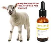 PLACENTA EXTRACT HYALURONIC ACID VITAMIN C WRINKLE REMOVAL  COLLAGEN SERUM 30ml