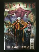 Vampires Marvel Undead #1 2011 2012 1st Printing comic book 1st print Blade