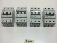 Siemens 5SX2 Circuit Breaker LOT OF 4 Warranty! Fast Shipping!
