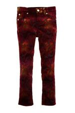 7 For All Mankind The Skinny Ombre Velvet Legging Jean Size 12 Girls
