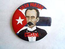 Vintage Gran Parada Cubana Cuba Pinback Button