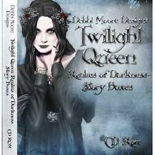 Debbi Moore Designs Twilight Queen Realms of Darkness Story Boxes CD Rom 298164