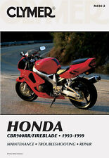 Clymer Repair Service Shop Manual Honda CBR900RR 93,94,95,96,97,98,99