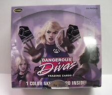 Marvel Dangerous Divas - Box of Cards Without the Sketch Card Rittenhouse 2011