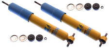 2-BILSTEIN SHOCK ABSORBERS,FRONT,97-13 CORVETTE,46MM MONOTUBE,GAS PRESSURE