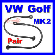 VW GOLF MK2 & GTI JETTA MK2 PARCEL SHELF CORD STRAPS PAIR RUBBER X2