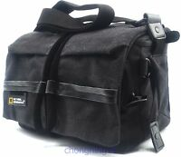 Waterproof Canvas DSLR Camera Shoulder Bag Case Pouch For Canon Nikon Pentax new