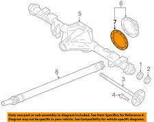 GM OEM Rear Axle-Differential Pumpkin Cover Gasket 15860607