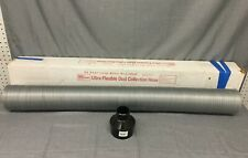 """New listing Psi Woodworking D50C Dust Collection Hose Clear Vinyl Flexible 4"""" x 50-Ft.-"""