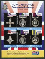 St Vincent & Grenadines 2018 MNH Royal Air Force RAF 6v M/S II Aviation Stamps