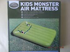 KIDS MONSTER AIR MATTRESS/ GREEN