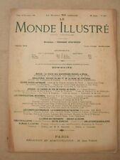 LE MONDE ILLUSTRE 26 NOVEMBRE 1904 N° 2487 JOURNAL HEBDOMADAIRE Dir E DESFOSSES