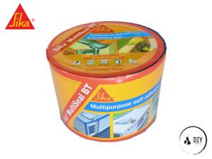 Sika Multipurpose Self-Adhesive Butyl Sealing Tape 100mm x 10m Weather Proof Eco