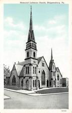 SHIPPENSBURG, PA  Pennsylvania     MEMORIAL LUTHERAN CHURCH     c1920's Postcard