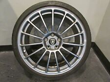 Lamborghini Gallardo, Front Wheel, Scorpius Style, Grey, Used, P/N 400601017AL